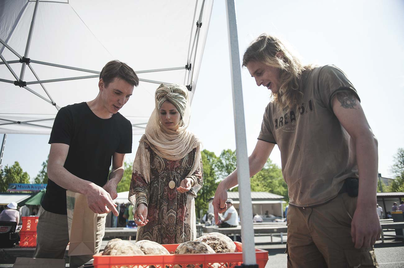 Finnish Traditional Islamic Bread – Otto Karvonen